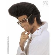 Party-accessoires Pruik, Elvis jumbo