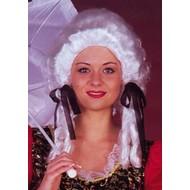 Carnaval- & feest accessoires: Pruik Antoinette