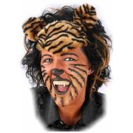 Carnaval- & feest accessoires: Pruik Tijger of Panter