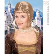 feestaccessoires: Pruik Middeleeuwse prinses