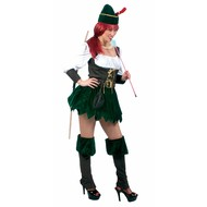 Party-kleding: Robin Hoods wife