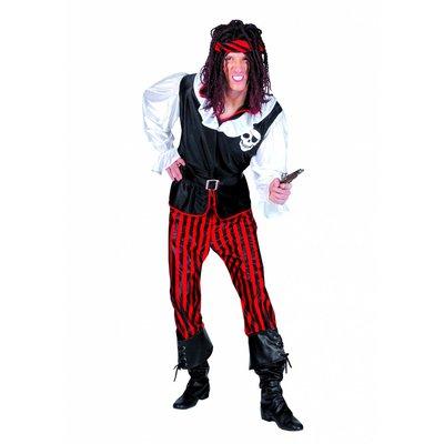 Piratenpruik met rastahaar