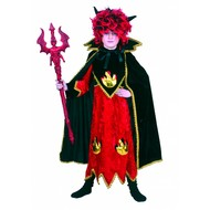 Feestaccessoires: Pruik Devils flame