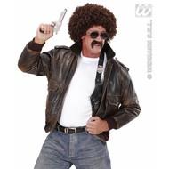 Feestpruik: Undercover agent met snor en bril