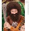 Krulpruik met baard