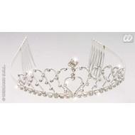 Party-sieraden: Tiara met diamanten
