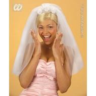 Party-accessoires: Sluier bruid