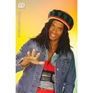 Partyartikelen Reggae / rasta muts