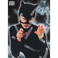 Themafeest Halloween: Kap catwoman