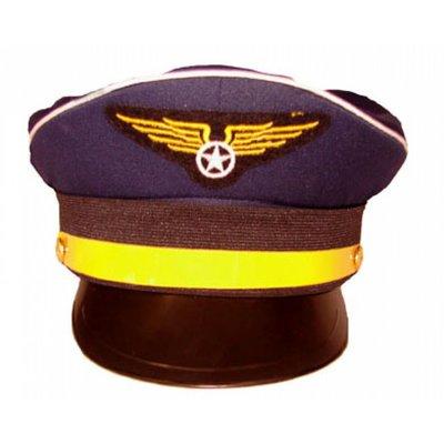 Pilotenpet met wing