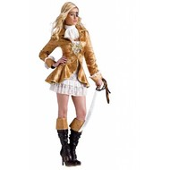 Vrijgezellenavond-outfit: Treasury-island girl