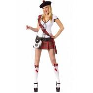 Vrijgezellenavond-outfit: hotty Scottie-girl