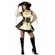 Feest-outfit: Classic piraten jurkje