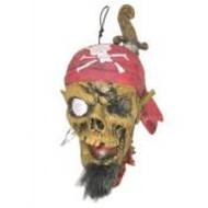 Schrik-me-rot artikelen: onthoofd hoofd piraat