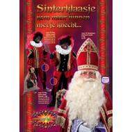 Sinterklaaskleding: Zwarte Pieten Pak Wybermodel (luxe fluweel)