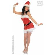 Themafeesten; Sexy kostuum kerstvrouw