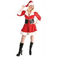 Feestkleding: Luxe kerstvrouw