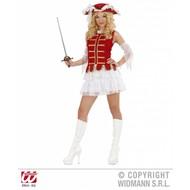 Vrijgezellen-outfit: musketierrmeisje