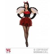 Vrijgezellen-outfit: sexy duivel met vleugels