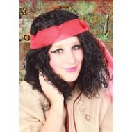 Carnaval- & feest accessoires: Pruik Zigeunerin Xandra