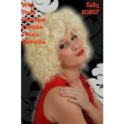 Krullen pruik Sally