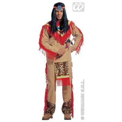 "Indiaan ""Sitting Bull"" kostuums"
