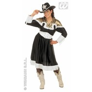 Carnavalspak Cowgirlshirt de luxe