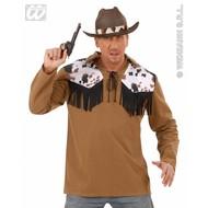 Carnavalspak Cowboy shirt