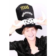 Feest-accessoires: Texas bighorn hoed