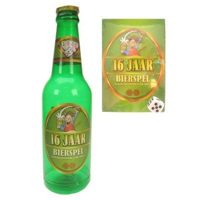 Fles met bierspel