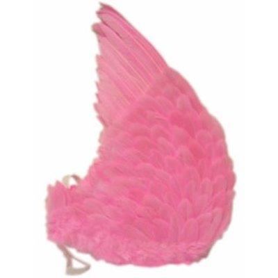 Roze engelen vleugels