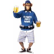 Feest apen kostuum