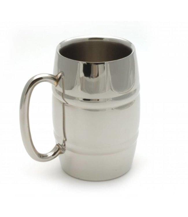 RVS Bierpul 0,4 liter