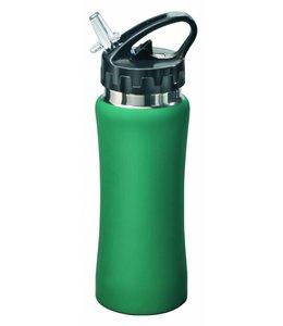 RVS Bidon groen, 0,5 liter