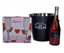 champagne/wijn koeler de luxe