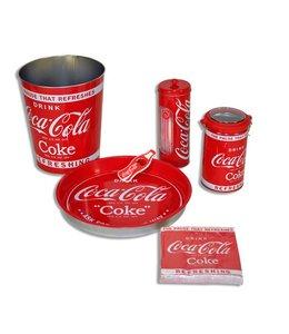 Coca Cola set rood