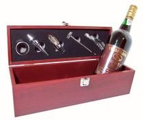 Wijn-giftbox met accessoires