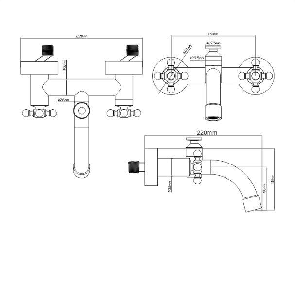 Bad en douche set ontwerp inspiratie voor uw badkamer meubels thuis - Baddouche ontwerp ...