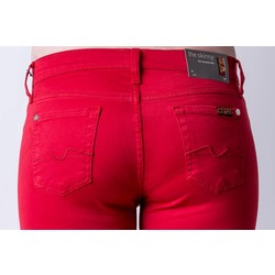 7 FOR ALL MANKIND THE SKINNY IN TANGO RED
