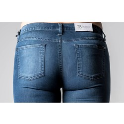 7 FOR ALL MANKIND THE SKINNY DENIM DELIGHT BLUE