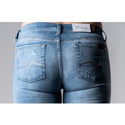 7 FOR ALL MANKIND SKINNY BOOTCUT SLIMILL CRYSTAL