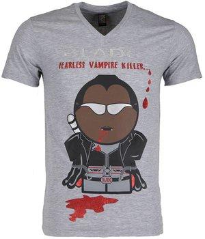 Mascherano T-shirt - Blade Fearless Vampire Killer - Grijs