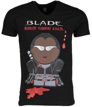 Mascherano T-shirt - Blade Fearless Vampire Killer - Zwart