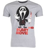 Mascherano T-shirt - Scary Movie - Grijs