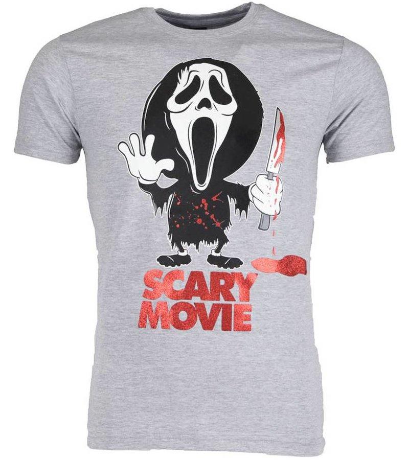 Mascherano T-shirt - Scary Movie - Grijs