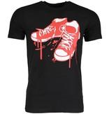 Mascherano T-shirt - Sneakers - Zwart