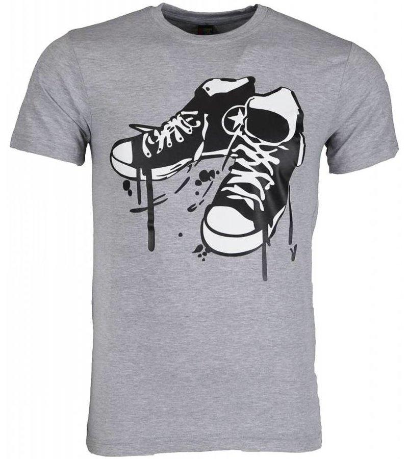 Mascherano T-shirt - Sneakers - Grijs
