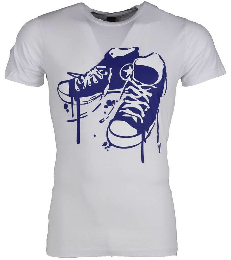 Mascherano T-shirt - Sneakers - Wit
