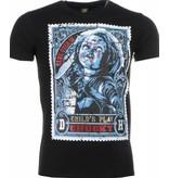 Mascherano T-shirt - Chucky Poster Print - Zwart
