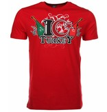 Mascherano T-shirt I Love Turkey - Rood